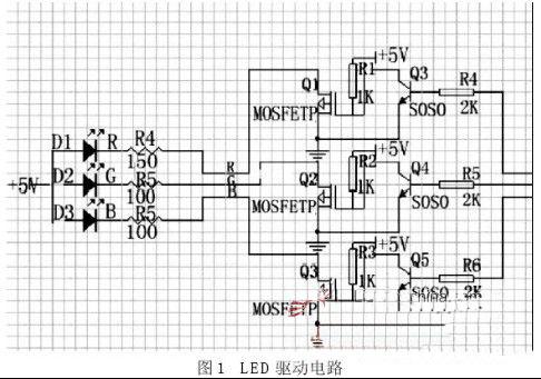 基于at89c51单片机的声控led彩灯的设计
