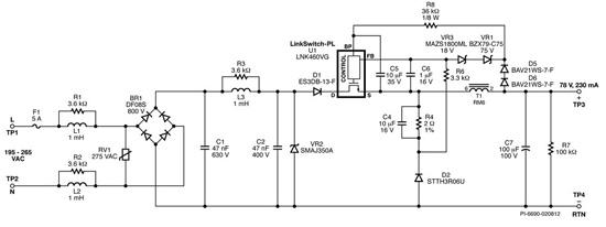 100w高可靠性led球泡灯驱动电源设计